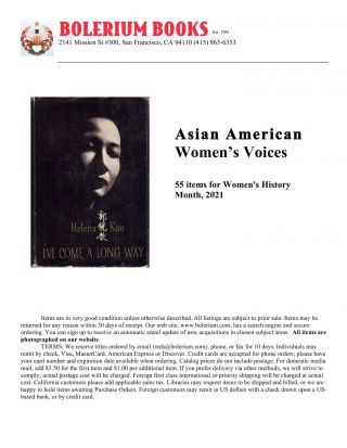 Asian American Women's Voices
