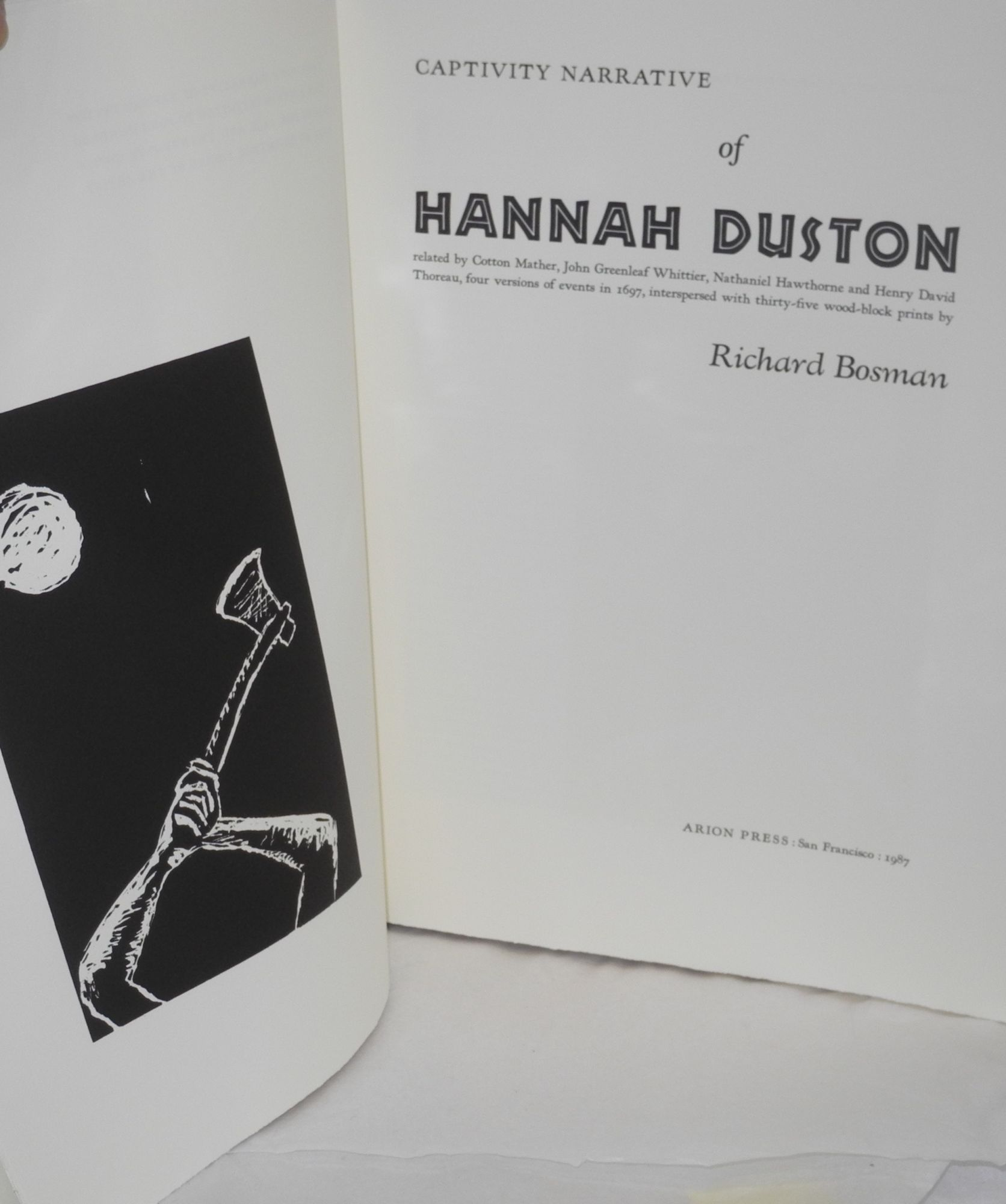 John Cotton Books: Captivity Narrative Of Hannah Duston, Related By Cotton