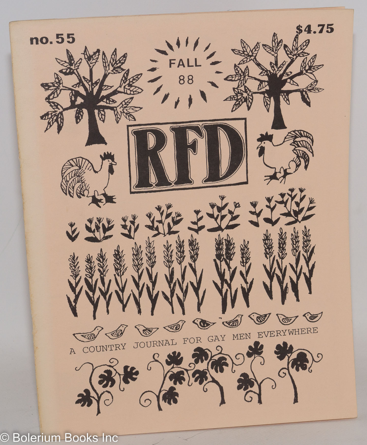 Rfd A Country Journal For Gay Men Everywhere #55, Fall