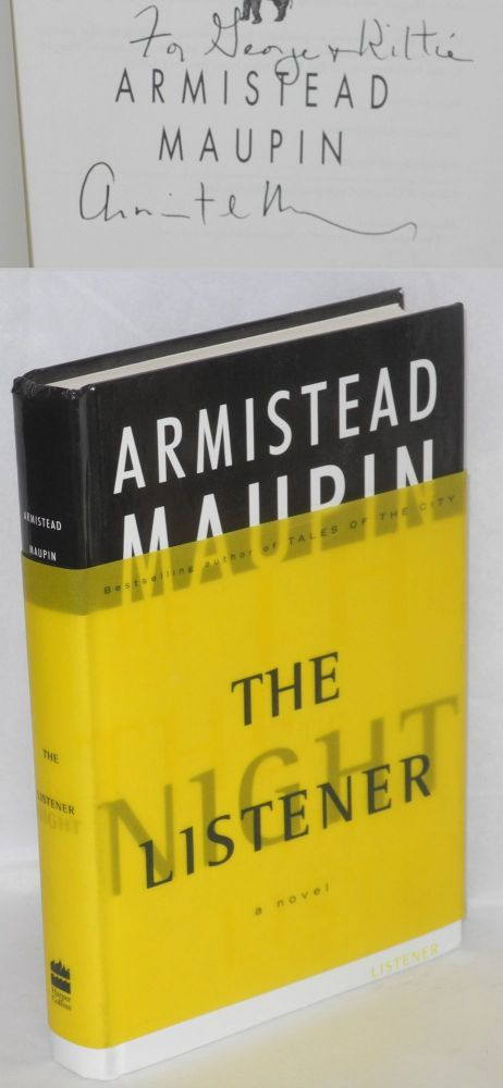 The night listener; a novel. Armistead Maupin.