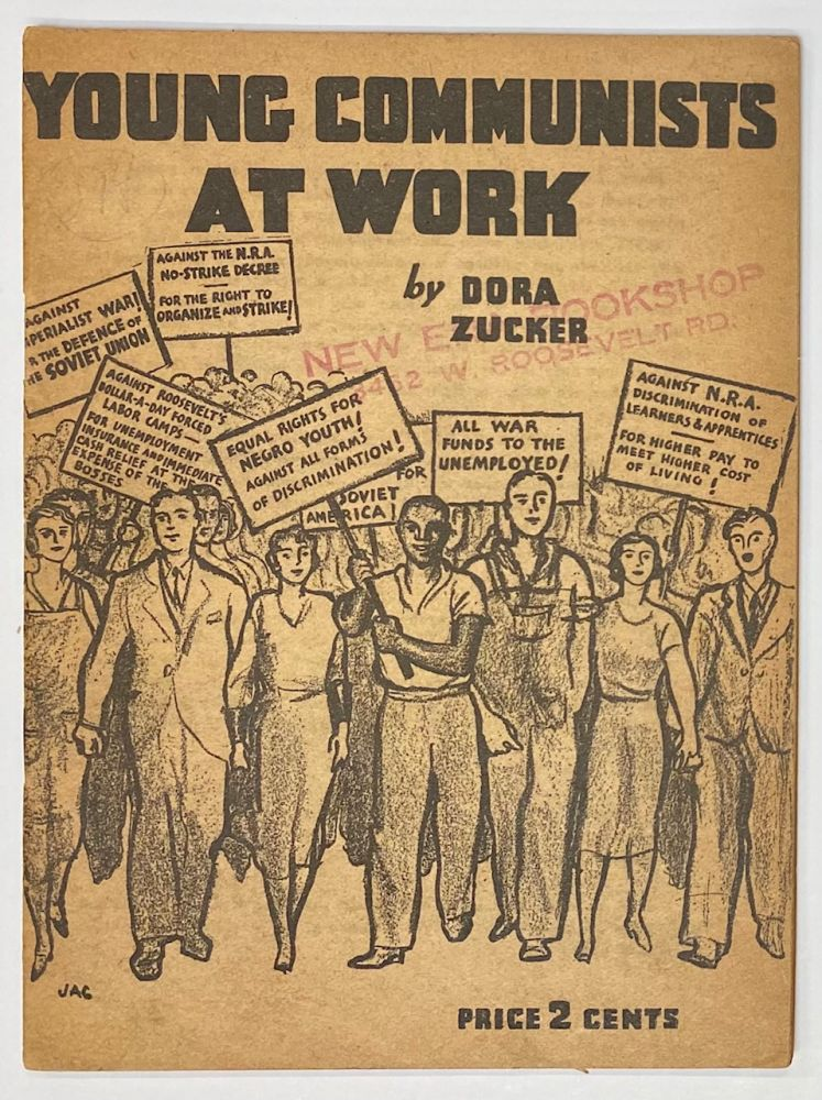 Young Communists at work. Dora Zucker.
