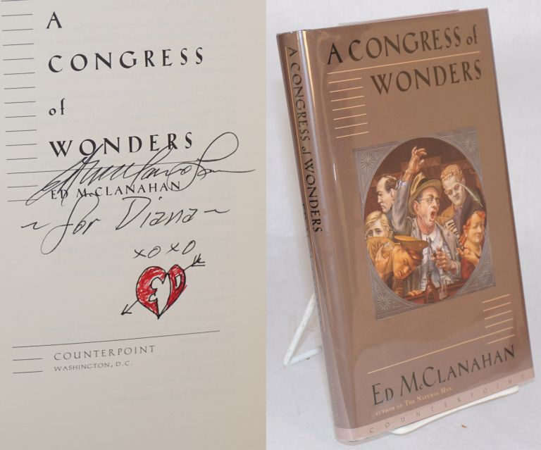 A congress of wonders. Ed McClanahan.