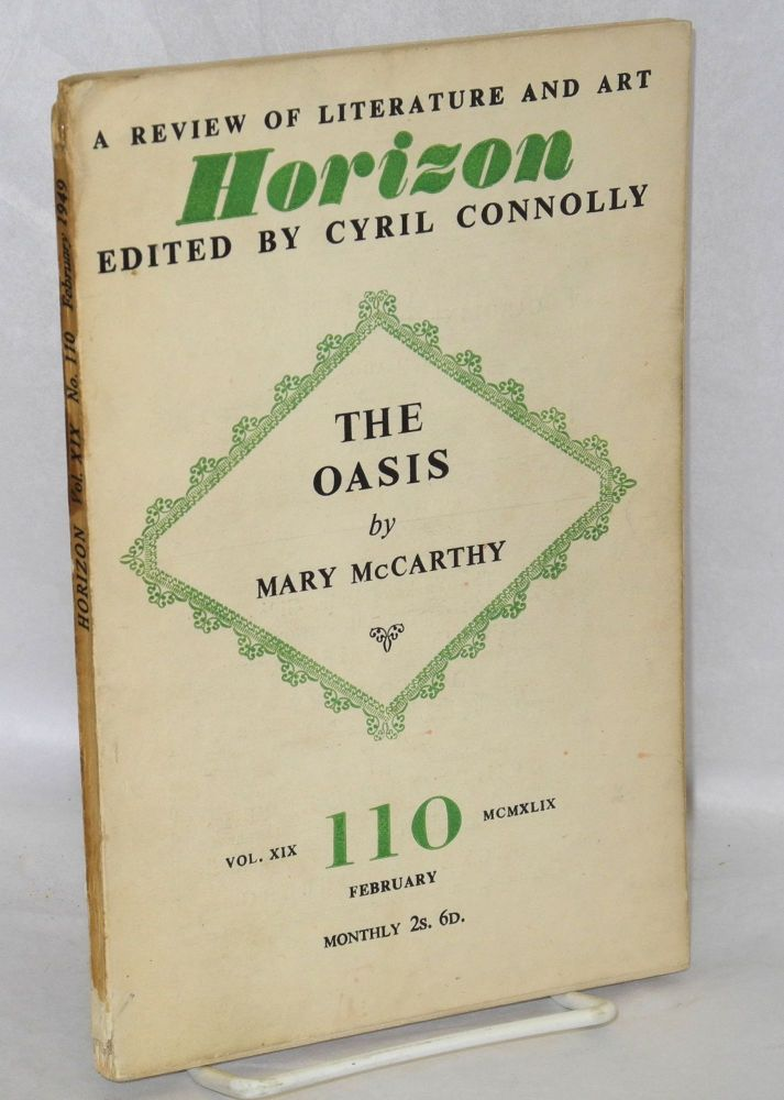 The oasis. Mary McCarthy.