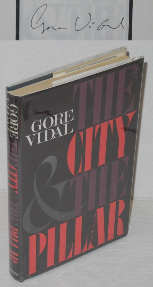 The city and the pillar. Gore Vidal.