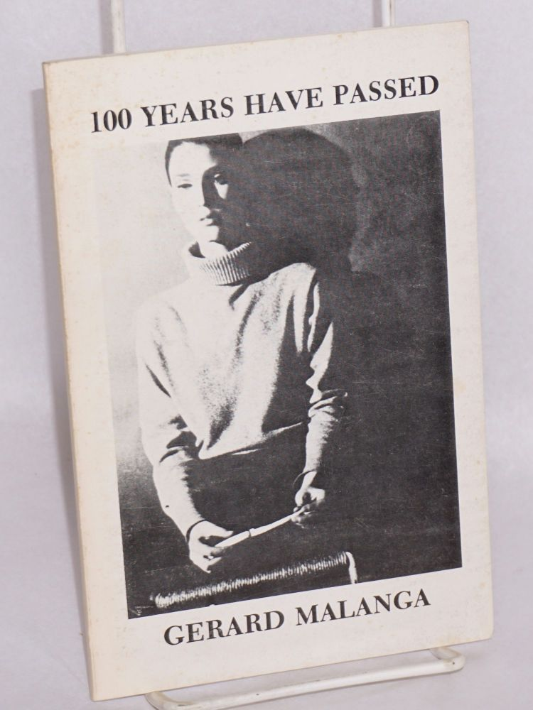 100 years have passed. Gerard Malanga, cover, Billy Name.