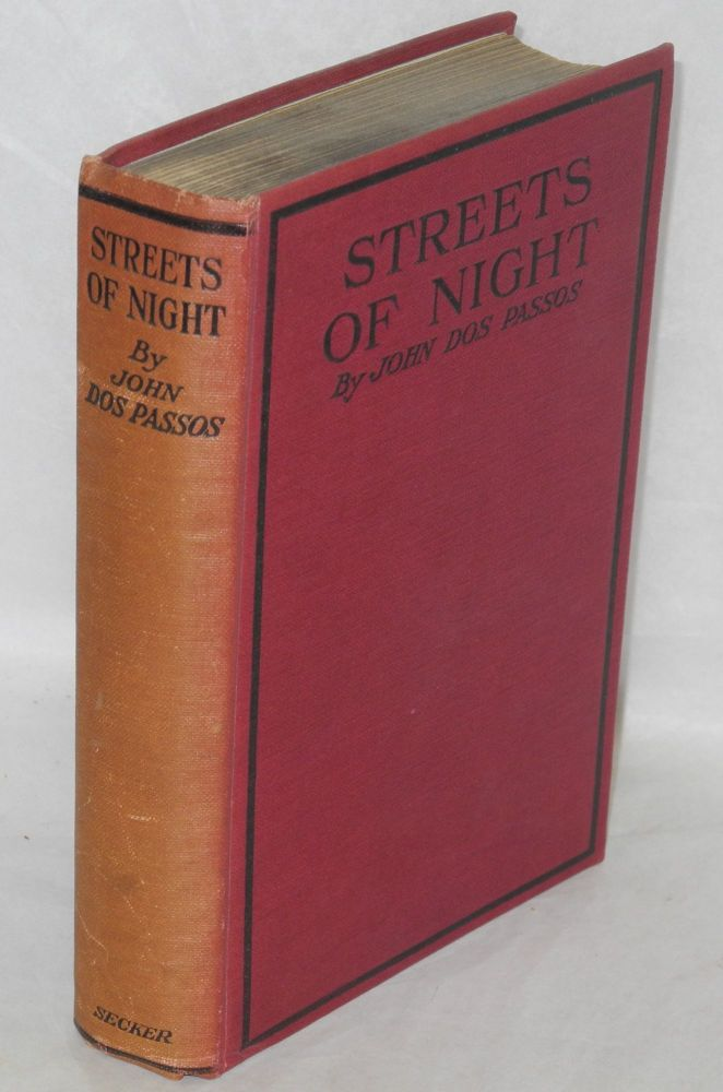 Streets of night. John Dos Passos.