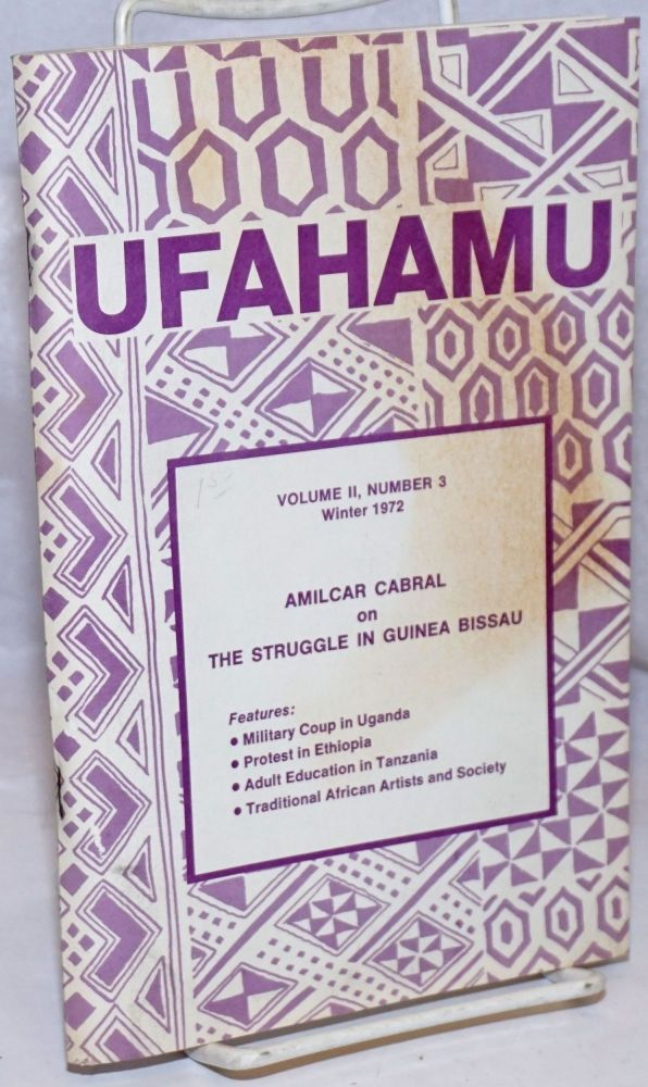 Ufahamu; volume II, number 3; Winter, 1972