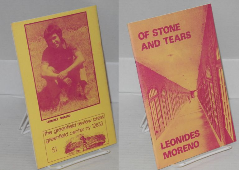 Of stone and tears. Leonides Moreno.
