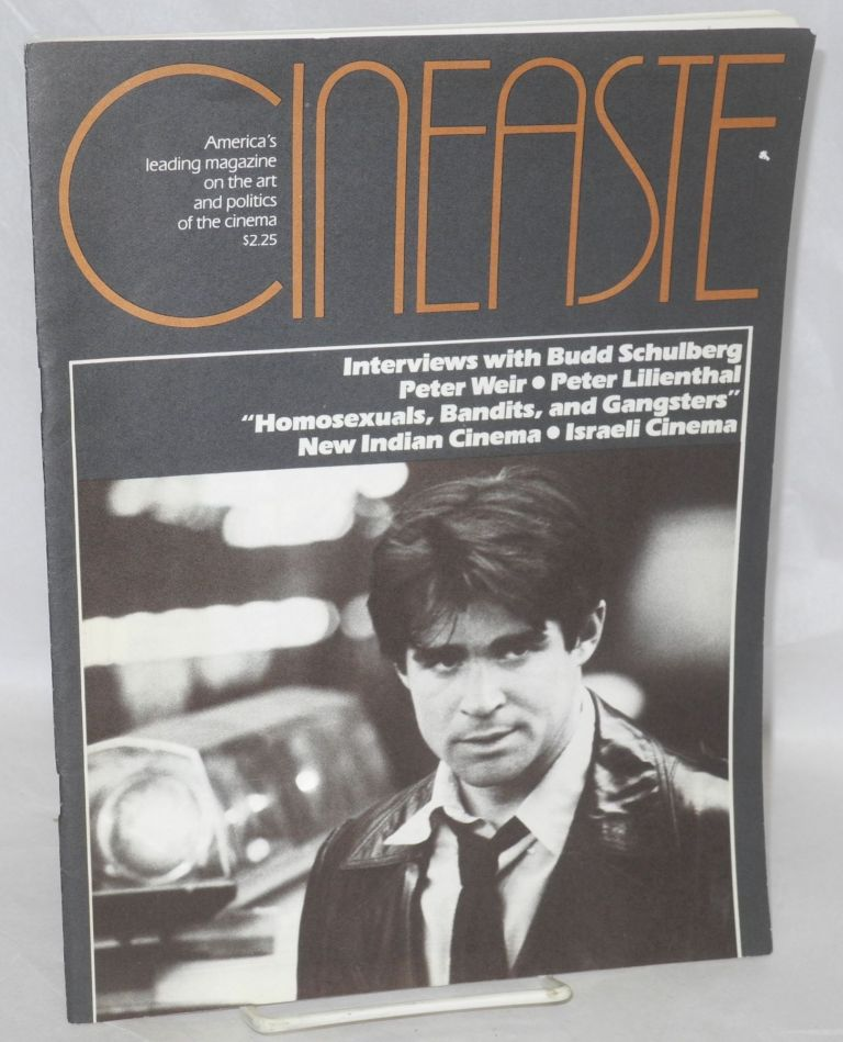 Cinéaste:; vol. XI, no. 4, 1982; Homosexuals, bandits, and gangsters; gay images in La Cage aux Folles by Ed Sikov