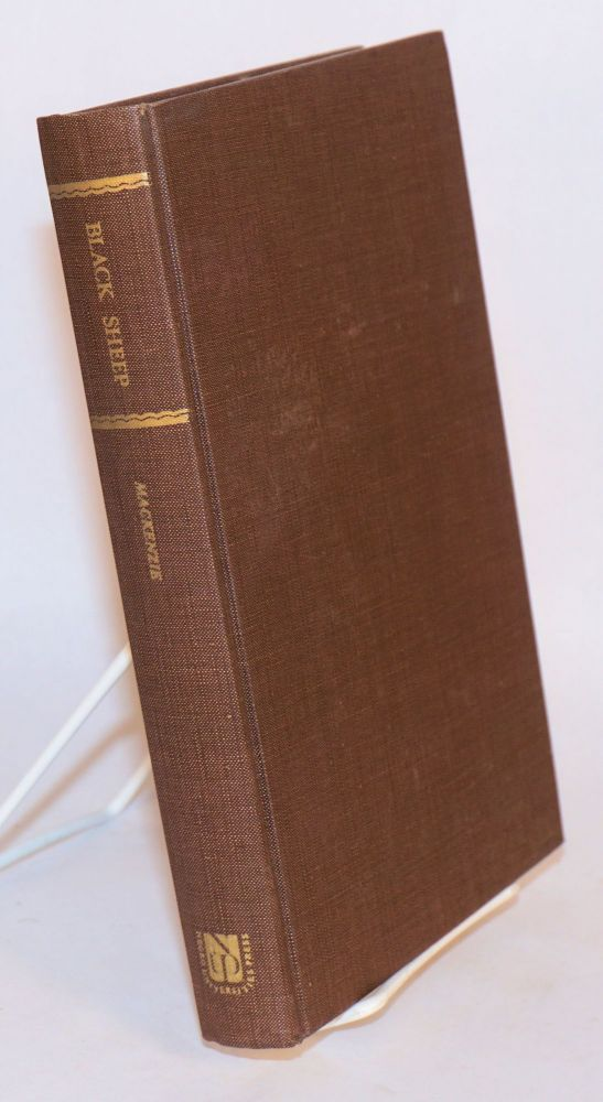 Black sheep; adventures in West Africa; with illustrations. Jean Kenyon Mackenzie.