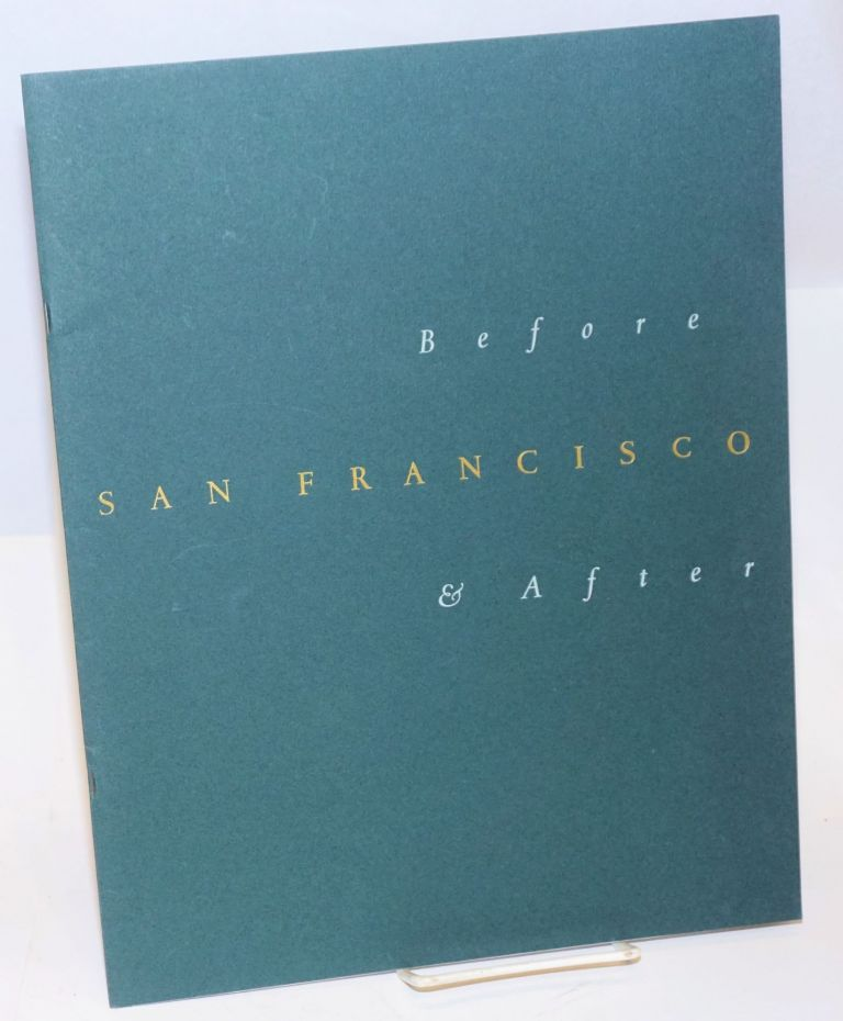 San Francisco; before and after. Balzer-Shopes.