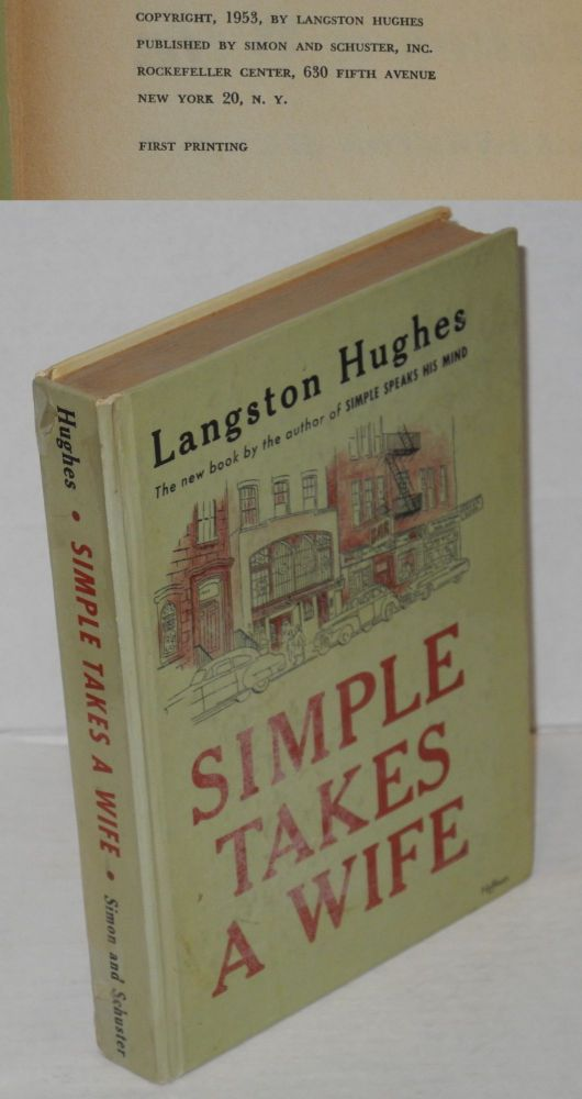Simple takes a wife. Langston Hughes.