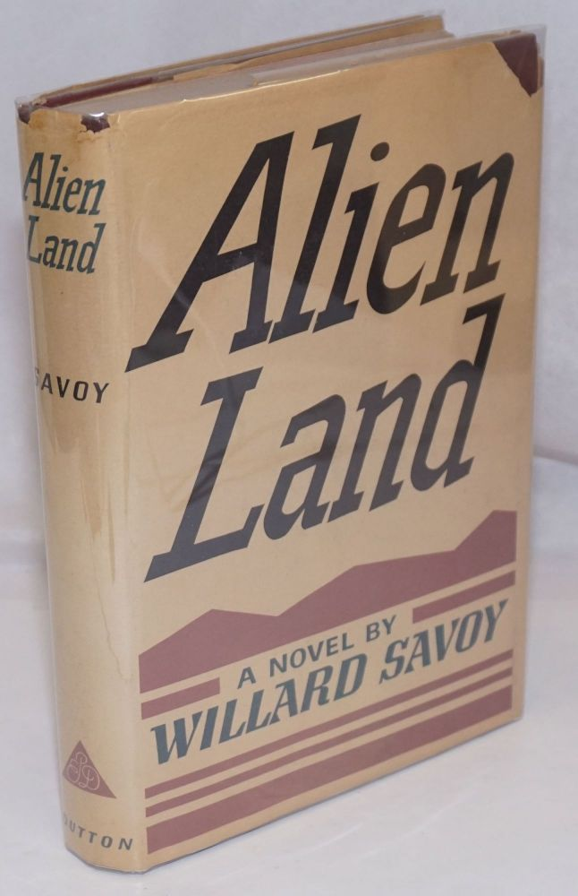Alien land. Willard Savoy.
