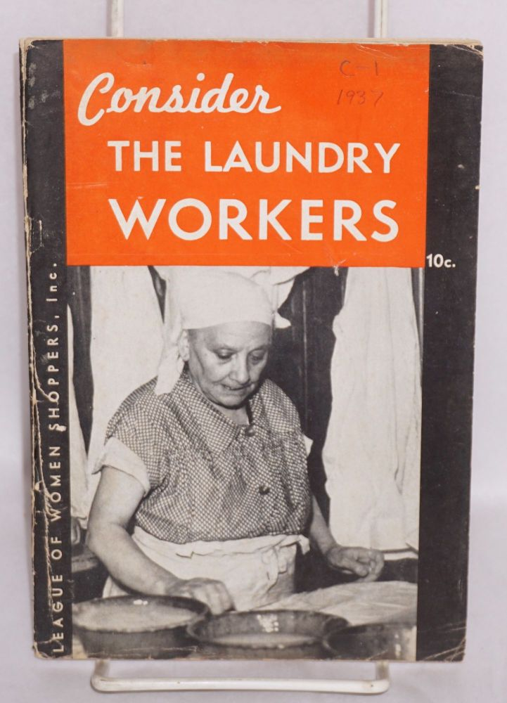 Consider the laundry workers. Jane Filley, Therese Mitchell.