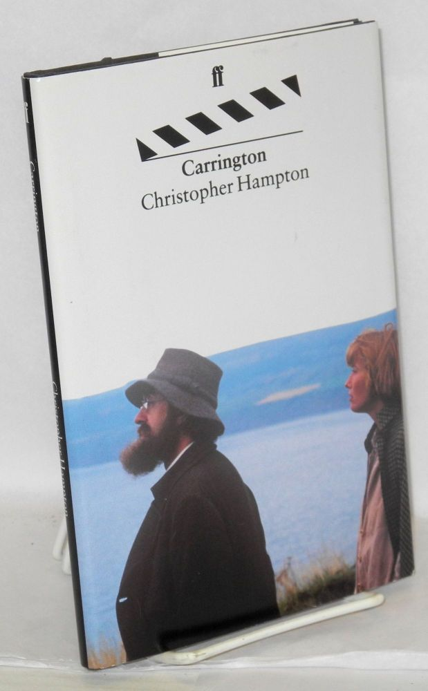 Carrington; a screenplay. Christopher Hampton.