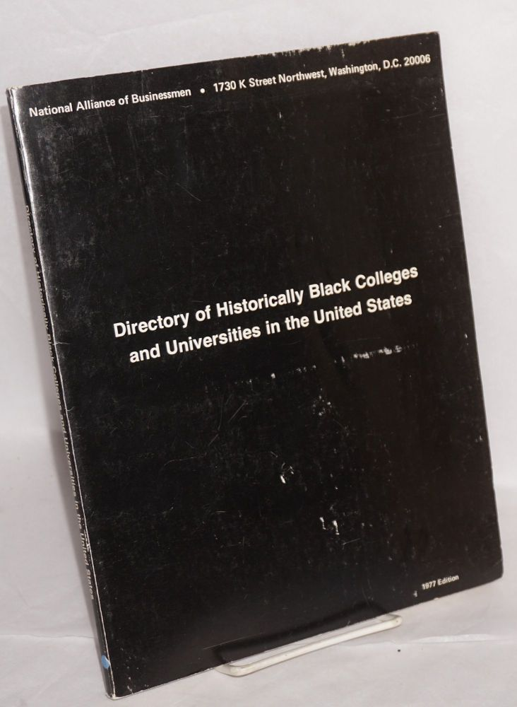 Directory of historically black colleges and universities in the United States