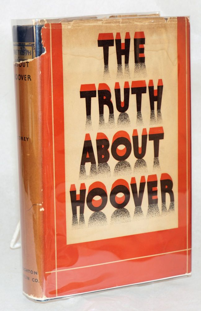 The truth about Hoover; with illustrations. Herbert Corey.