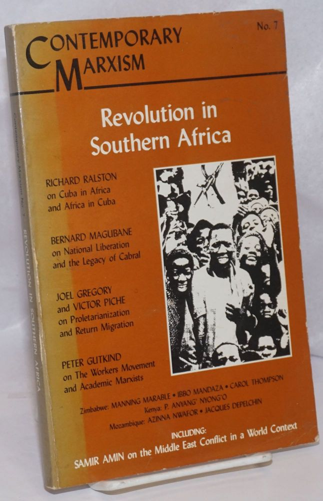 Revolution in Southern Africa. Marlene Dixon, ed.