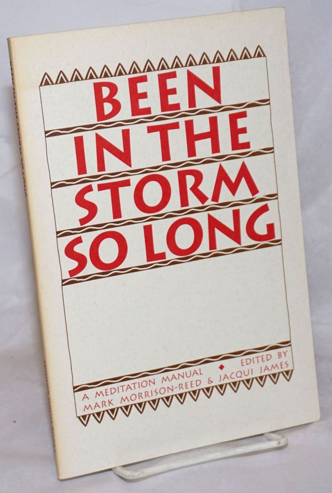 Been in the storm so long; a meditation manual. Mark Morrison-Reed, eds Jacqui James.
