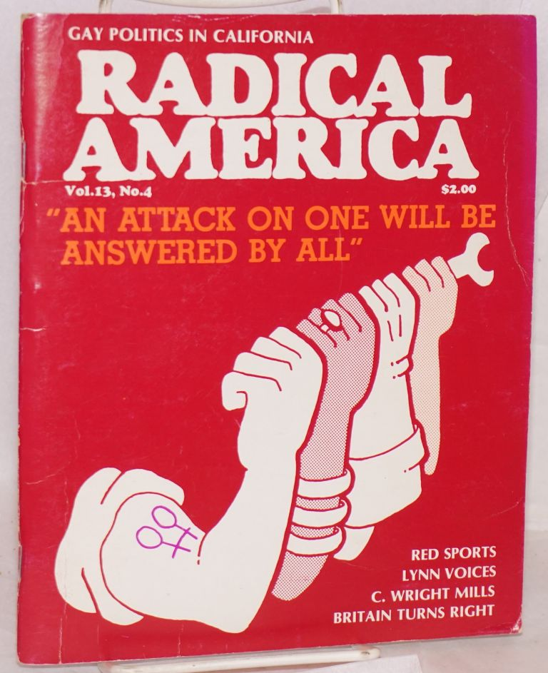 Defending Gay rights: the campaign against the Briggs Initiative in California; in Radical America, vol. 13, no. 4. Michael Ward, Mark Freeman.