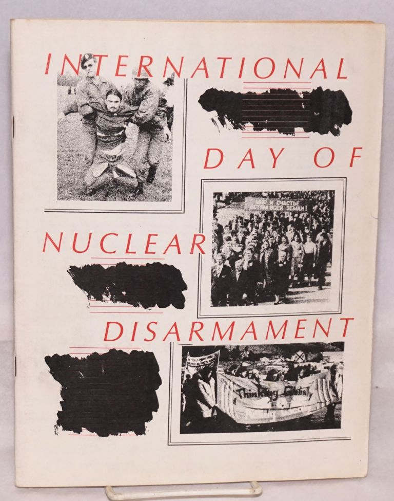 International day of nuclear disarmament. Livermore Action Group.
