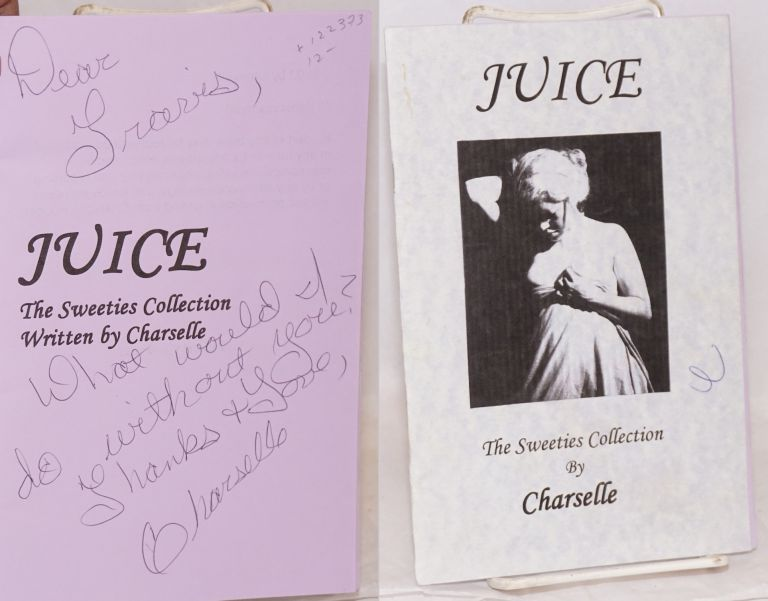 Juice the sweeties collection. Charselle.