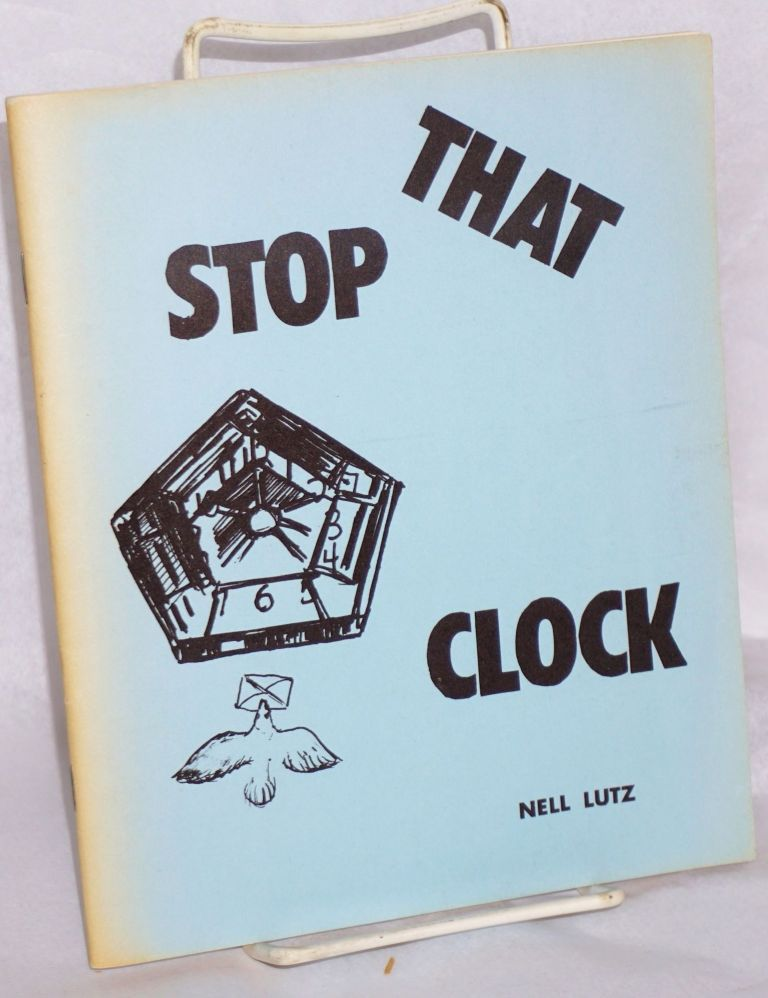Stop that clock. Nell Lutz.