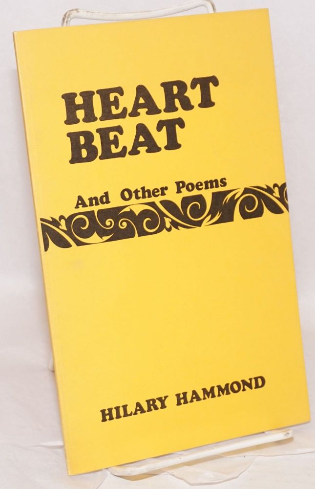 Heart beat and other poems. Hilary Hammond.