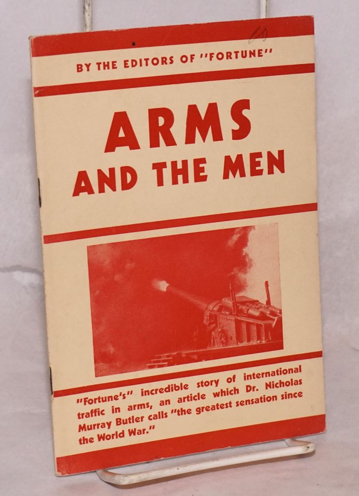 Arms and the men. of Fortune.