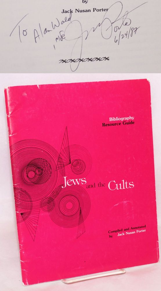 Jews and the cults. Bibliography/ resource guide. Jack Nusan Porter.