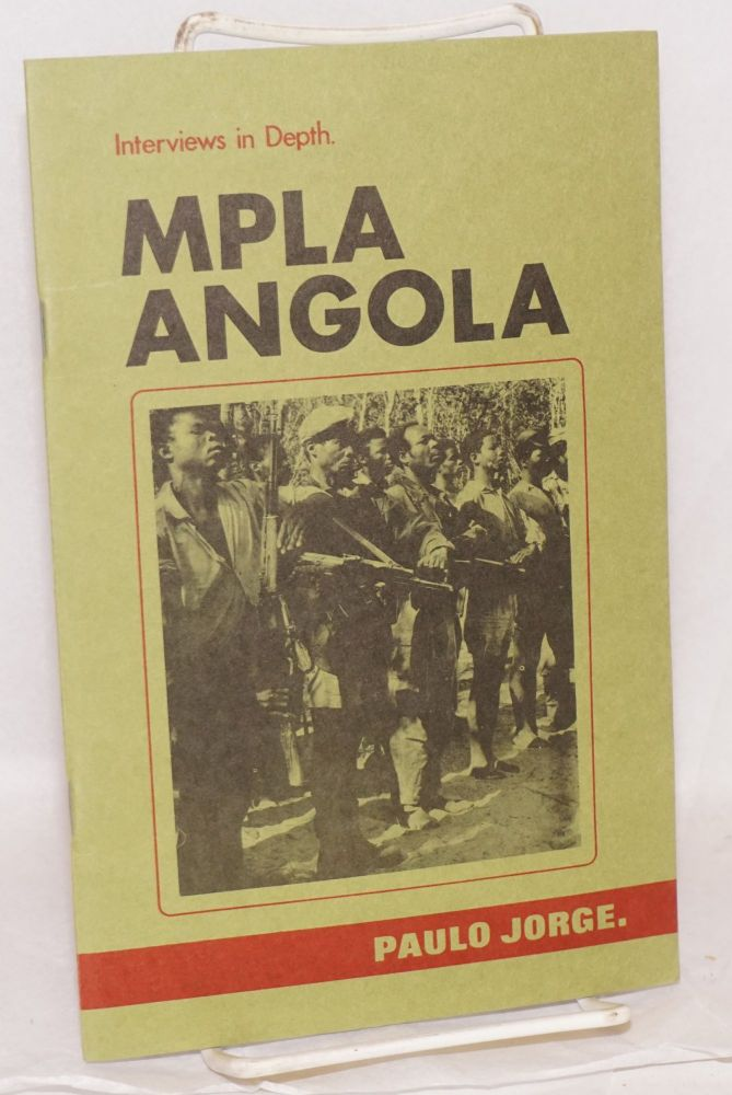 Interviews in depth; MPLA - Angola #4. Interview with Paulo Jorge -Director of MPLA's Department of Information and Propaganda (DIP). Paulo Jorge.