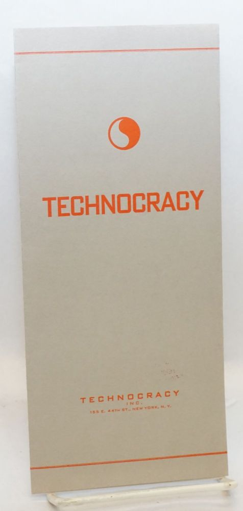 Technocracy plays America to win! [centerfold title]. Inc Technocracy.