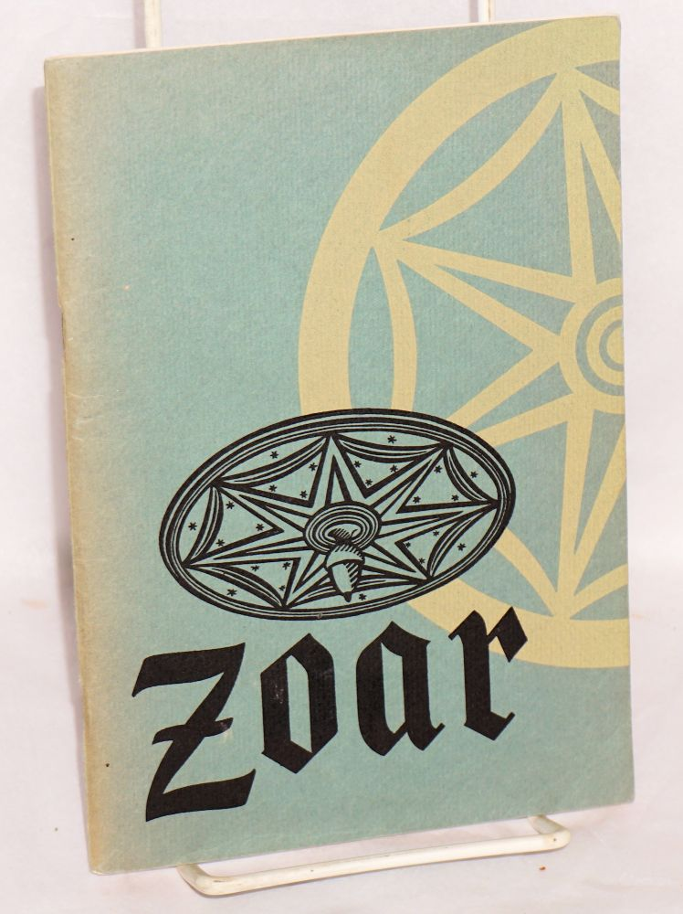 Zoar, an Ohio experiment in communalism. Ohio Historical Society.