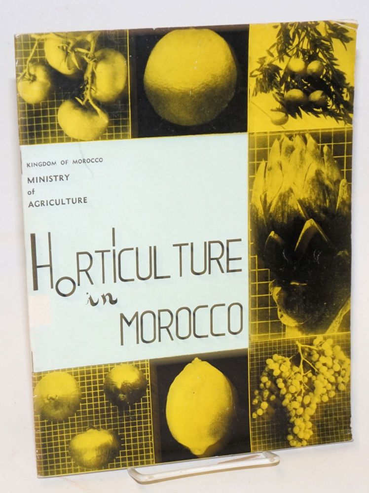 Horticulture in Morocco