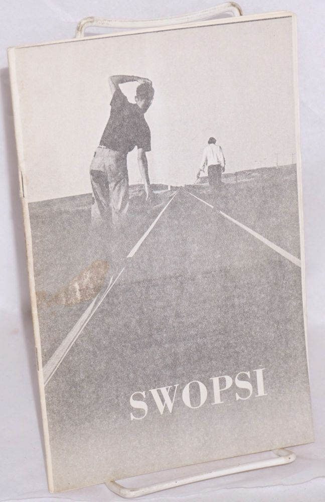 SWOPSI [Stanford workshops in social and political issues] Spring quarter 1970
