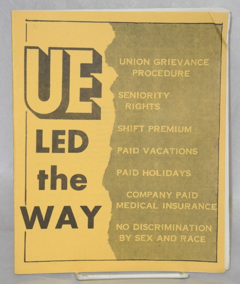 UE led the way