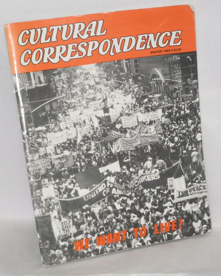 Cultural Correspondence new series #2 (Winter 1983)