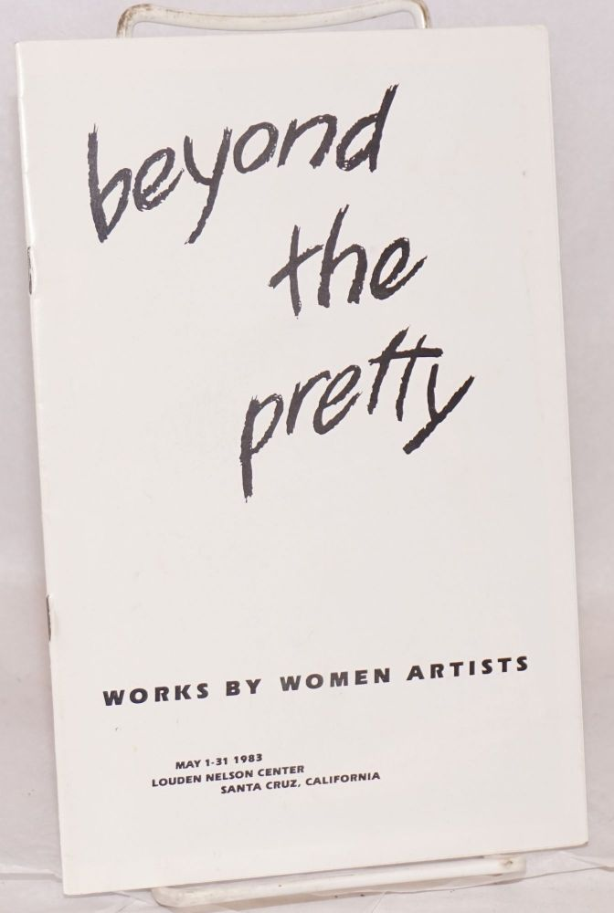 Beyond the pretty: works by women artists. May 1-31, Louden Nelson Center. Roberta Almerez.