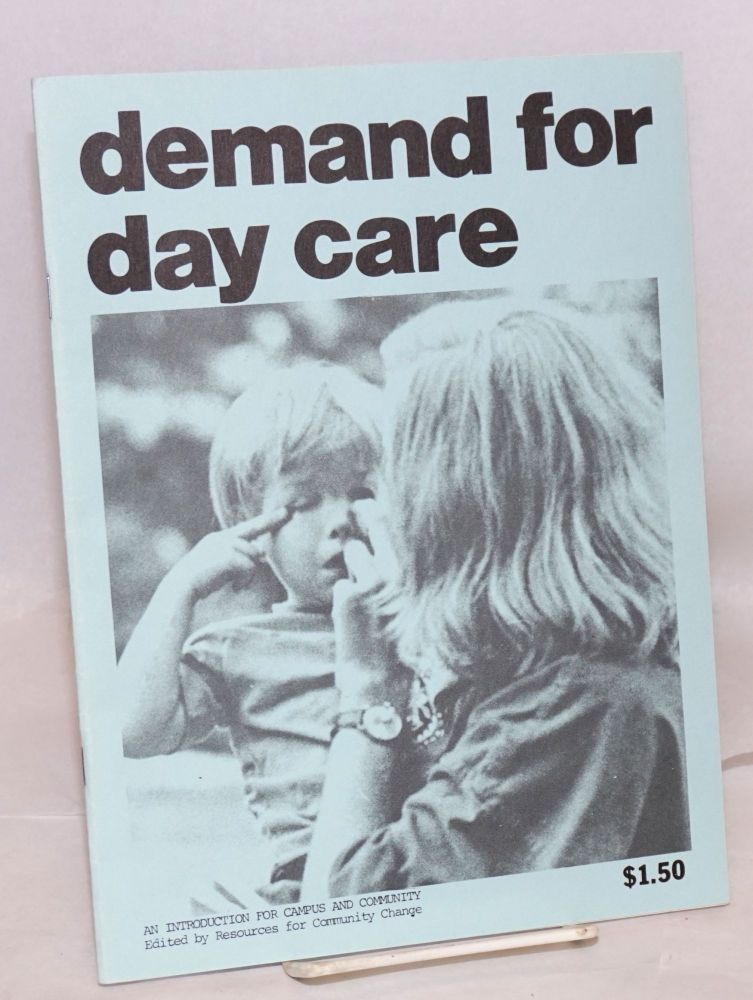 Demand for day care: an introduction for campus and community