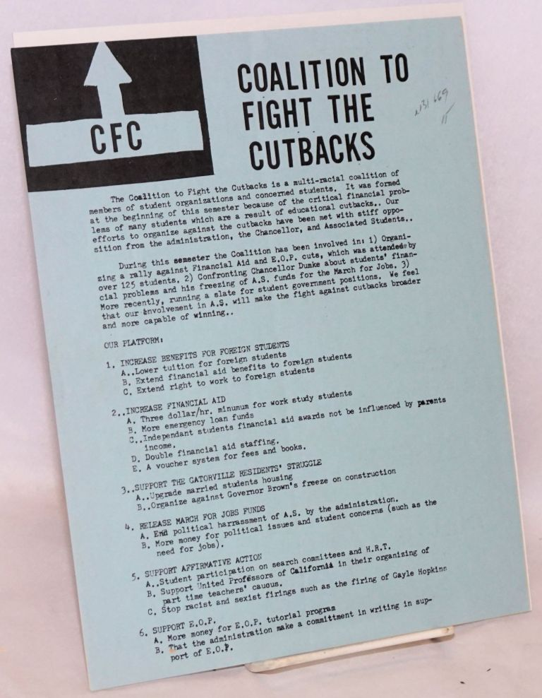 Coalition to Fight the Cutbacks
