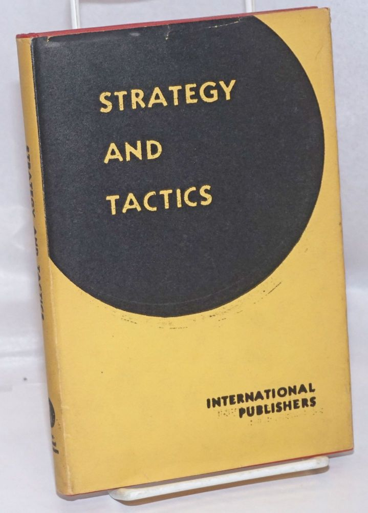 Strategy and Tactics of the Proletarian Revolution