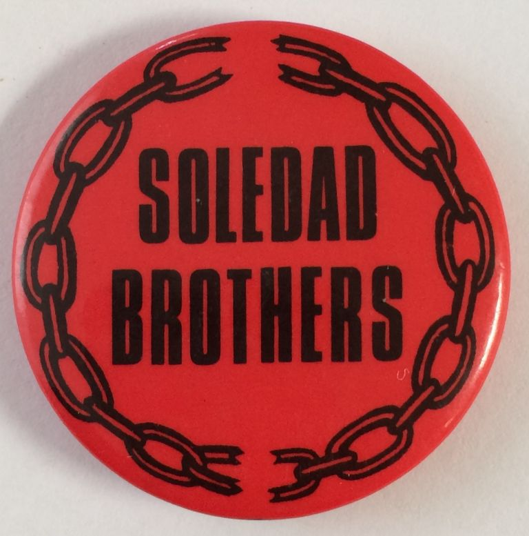 Soledad Brothers (pinback button)
