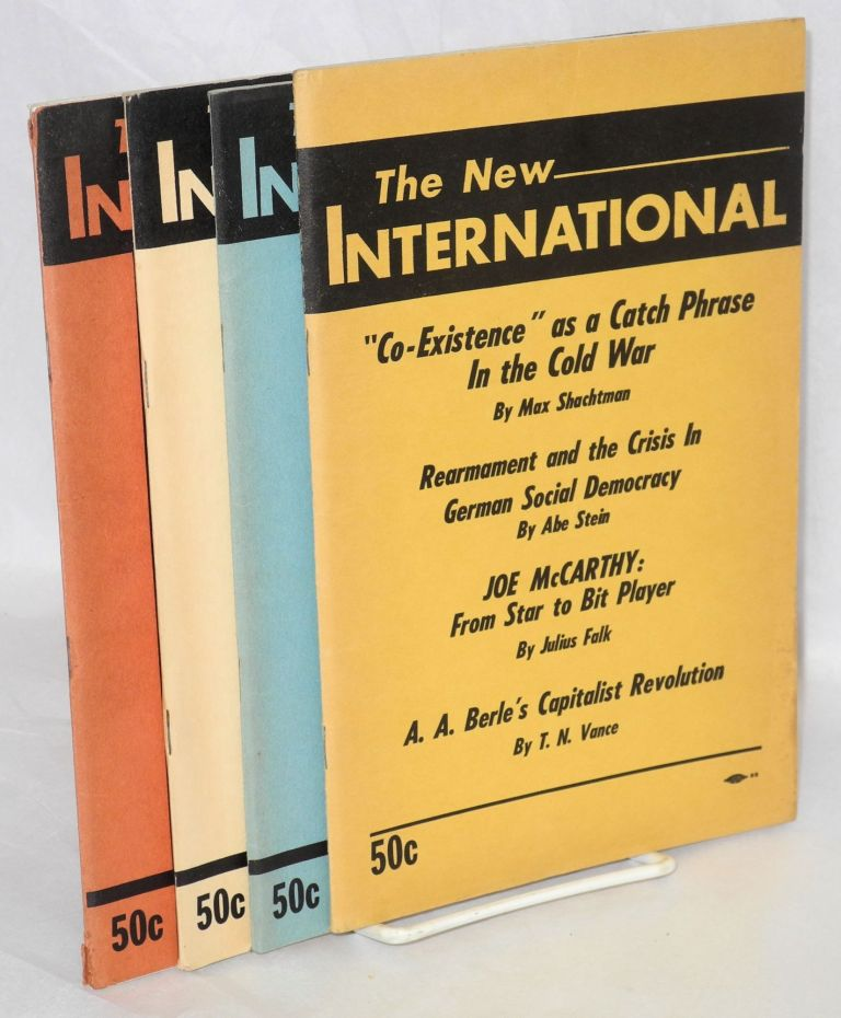 The new international, vol. 21, no. 1-4 (Spring 1955 to Winter 1955-1956). Max Shachtman, ed.