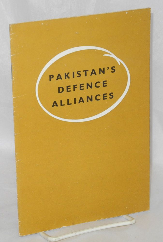 Pakistan's defense alliances