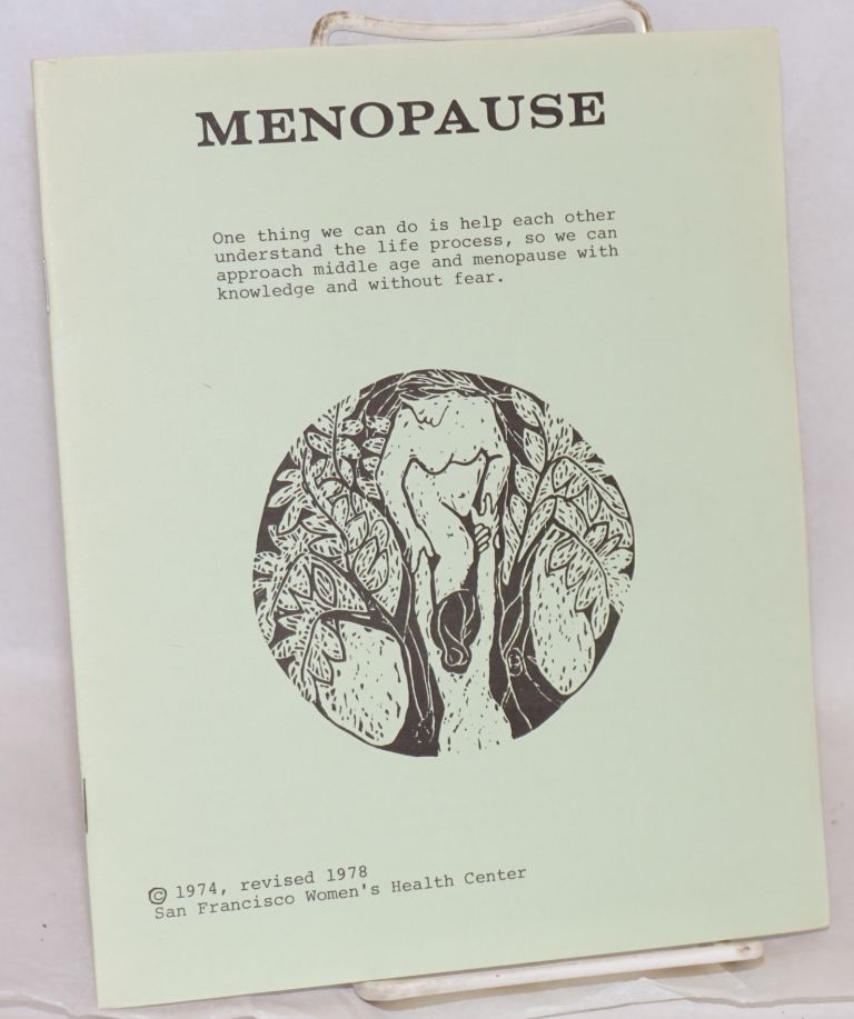 Menopause. San Francisco Women's Health Center.