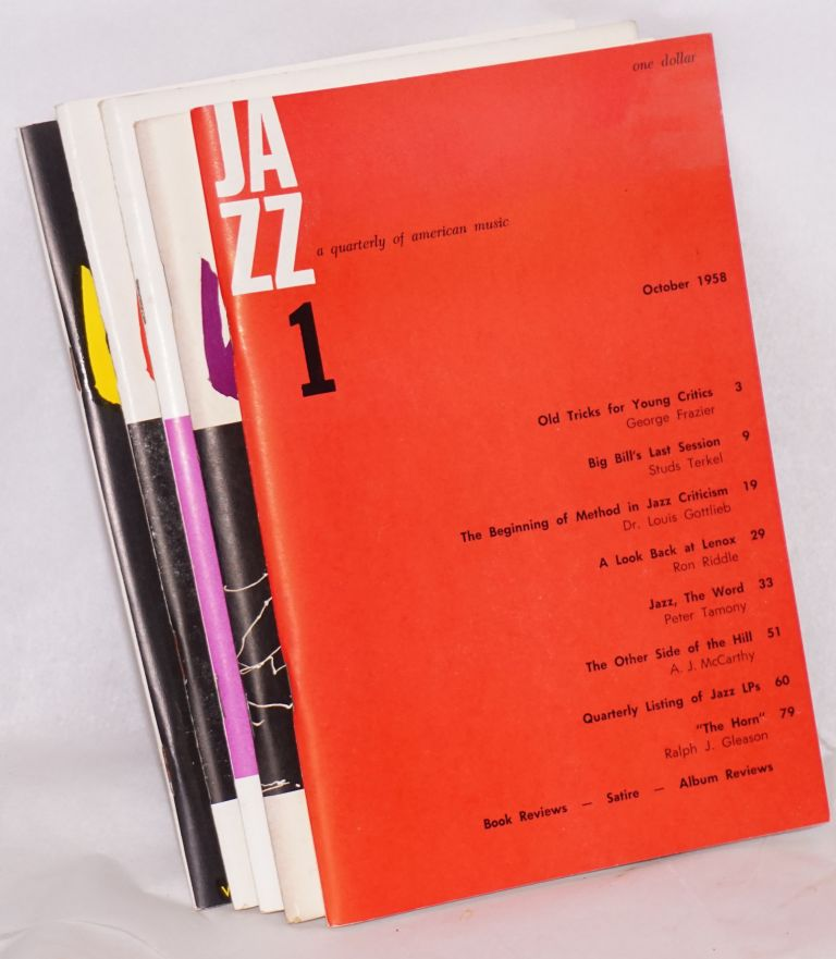 Jazz; a quarterly of American music,1-5
