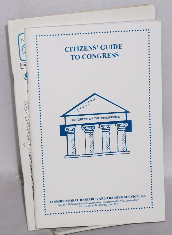 Citizens' guide to Congress. Congressional Research, Training Service.