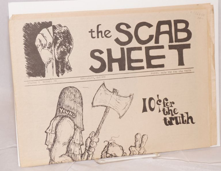 The Scab Sheet. Vol. I No. 10