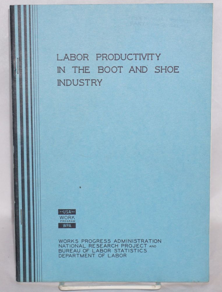 Labor productivity in the boot and show industry. Boris Stern.