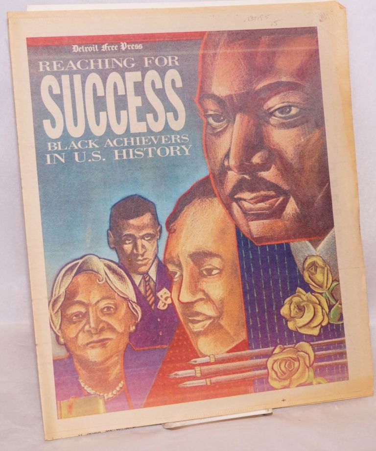 Reaching for success; black achievers in U.S. history